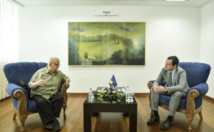 Abdulah Sidran i Albin Kurti