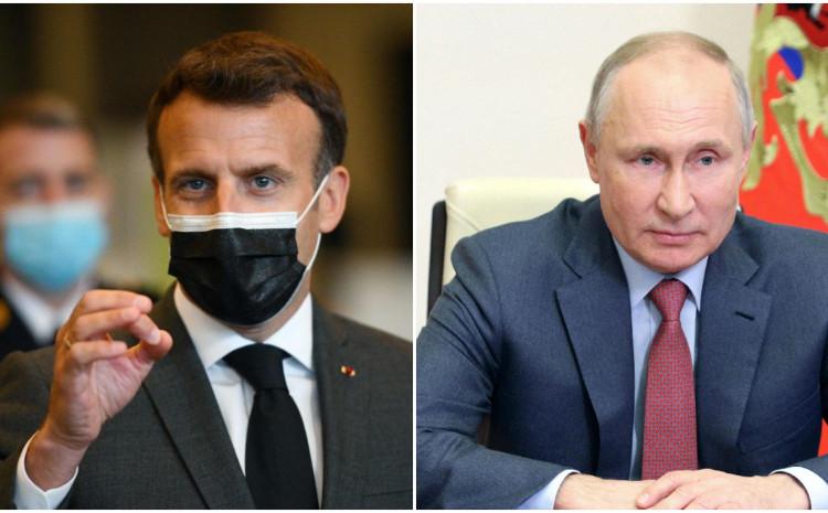 Makron: Nastavit ću viđam Putina