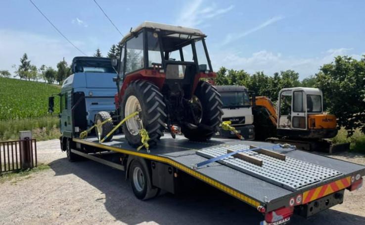 Nudi usluge prijevoza poljoprivrednih mašina i ostalog tereta