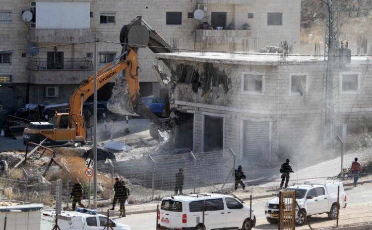 Rušenje palestinskog naselja