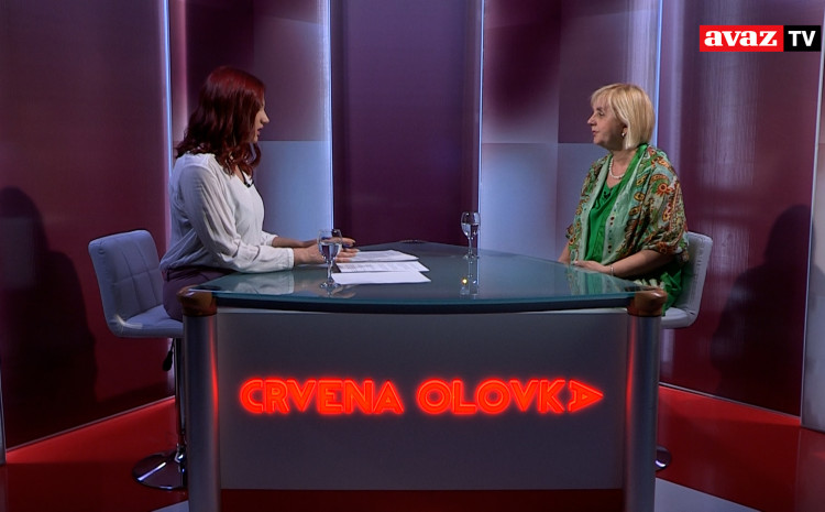 "Gost desete emisije ""Crvena olovka"" je Borka Rudić, generalni sekretar Udruženja ""BH novinari"""