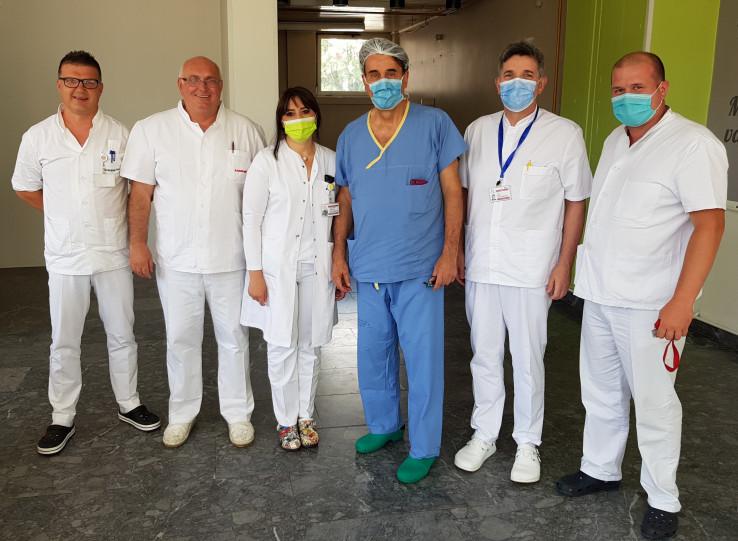Prof. Pašić ima dugogodišnju saradnju sa kolegama iz Opće bolnice