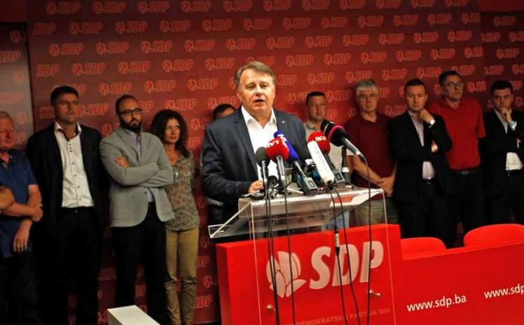 Održana sjednica Predsjedništva SDP-a