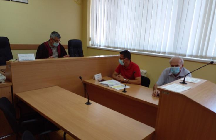 Sudija Despanić i advokati