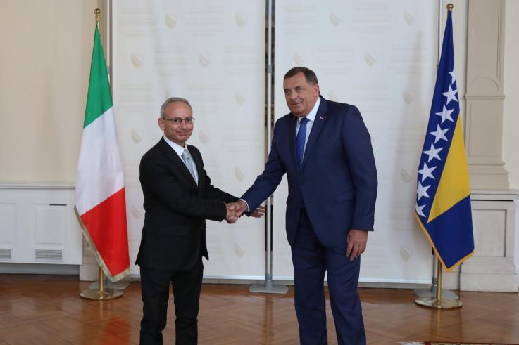 Marko Di Ruca i Milorad Dodik