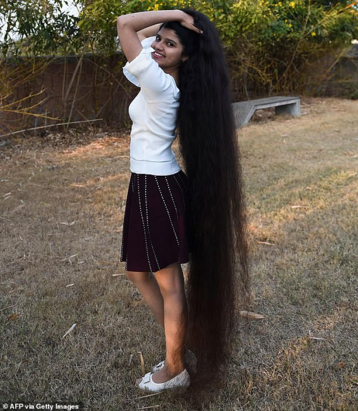 Kad je napunila 16 godina, kosa joj je bila duga 170,5 cm