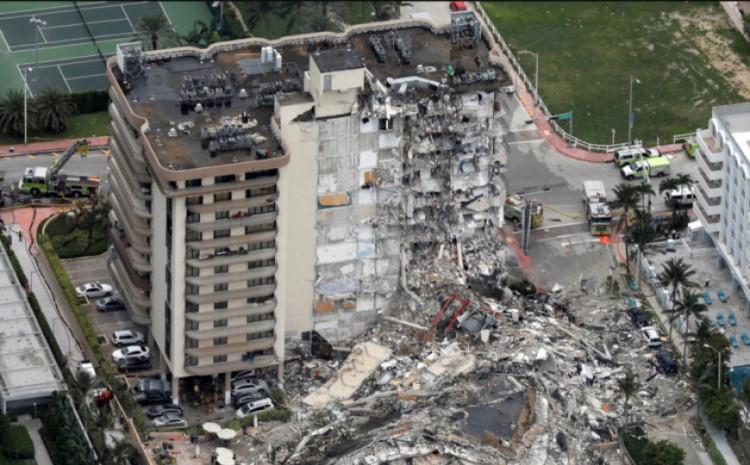 Zgrada se djelimično srušila 24. juna