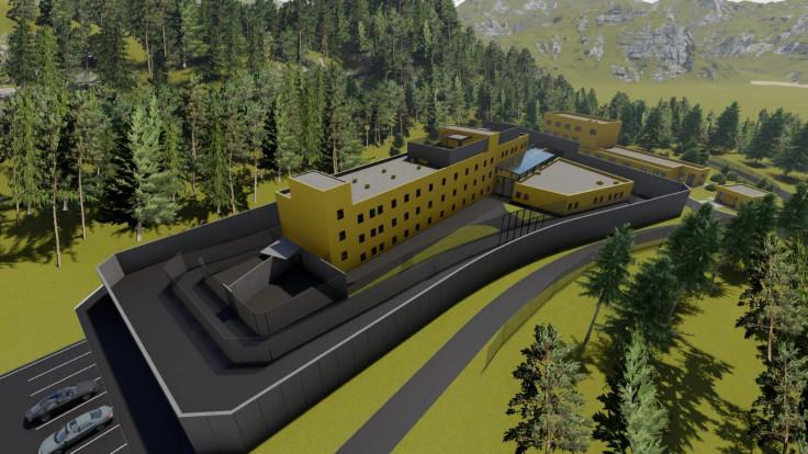 Izgled budućeg kompleksa na Igmanu