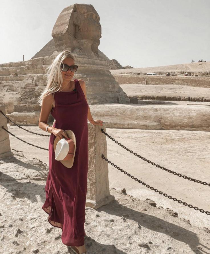 Dejana Rosuljaš posjetila egipat