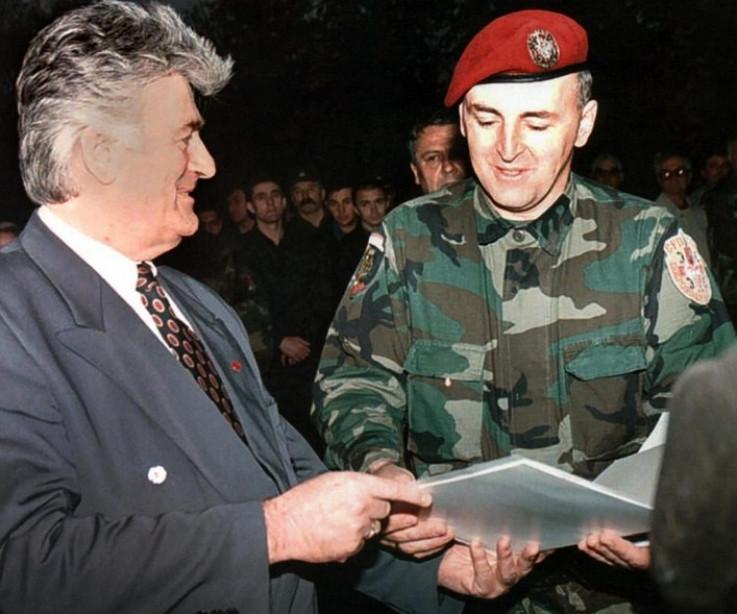 Radovan Karadžić i Željko Ražnatović Arkan
