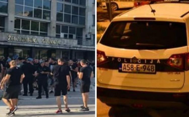 Policija intervenirala na Grbavici