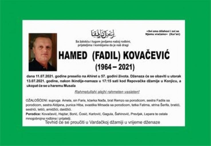 Kovačević bio ugledni profesor
