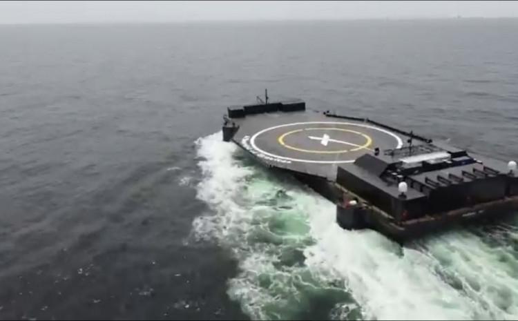 SpaceX-ov najnoviji brod dron