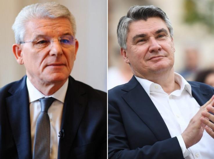 Šefik Džaferović i Zoran Milanović