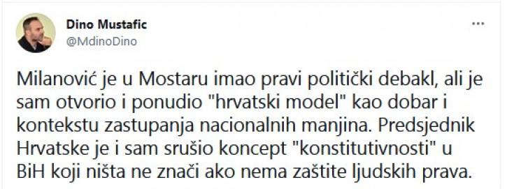 Status Dine Mustafića