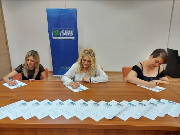 Prijem novih članica Foruma žena OO SBB-a Centar