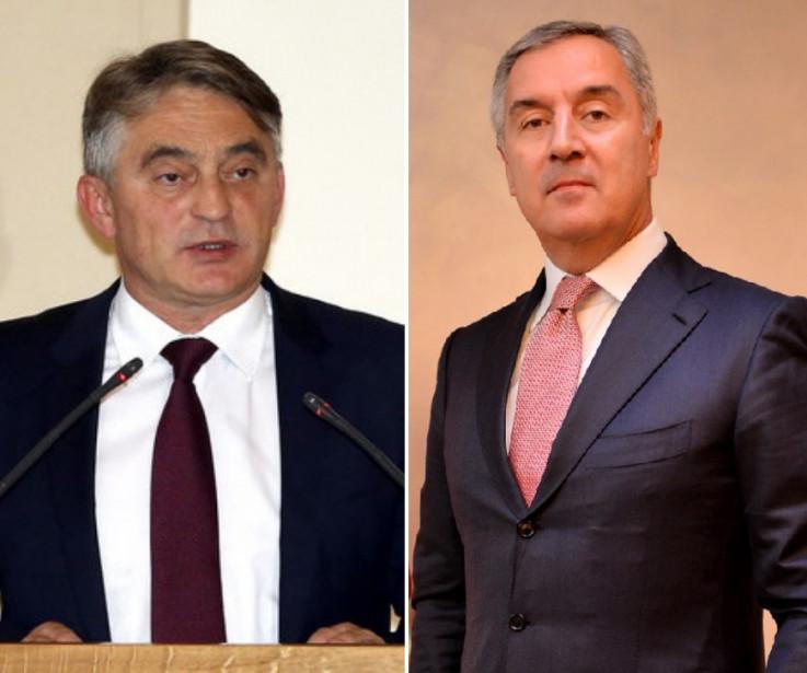 Željko Komšić i Milo Đukanović