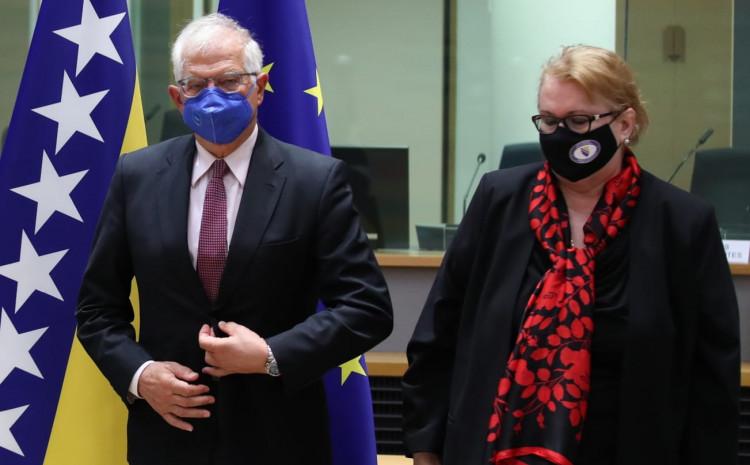 Turković s Boreljom: Duboko cijenimo kontinuiranu podršku Evropske unije