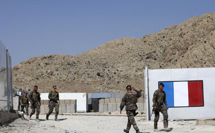 Francuski vojnici u Afganistanu 2012. godine