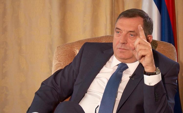 Dodik: Milanoviću upućene teške riječi