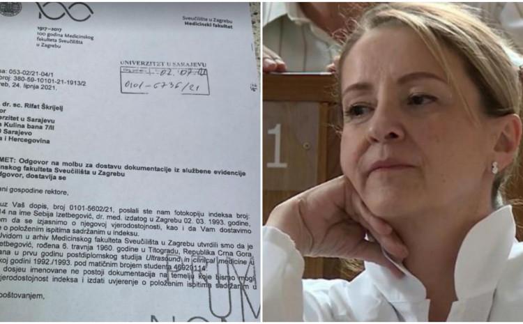 Stigla potvrda iz Zagreba: Upitan Sebijin magisterij