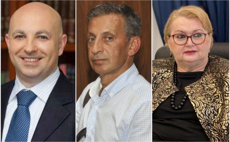 Denis Prcić, Osman Mehmedagić, Bisera Turković