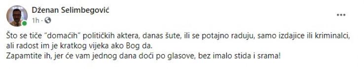Status Selimbegovića