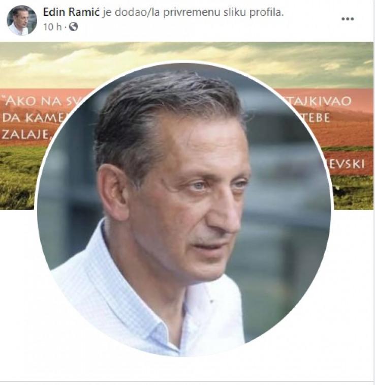 Ramić promijenio profilnu sliku