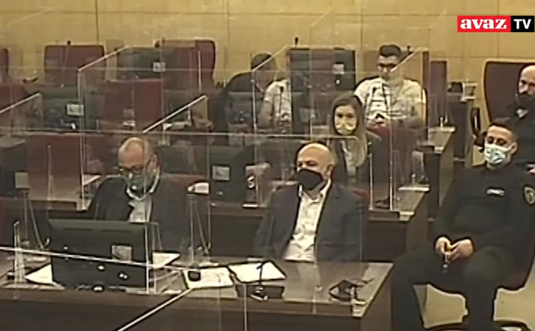 A hearing was held to extend the custody of Denis Prcić