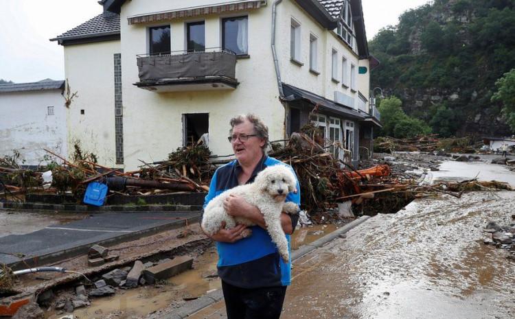 Oko 25 kuća prijeti urušavanje u okrugu Šuld u planinskoj regiji Eifel