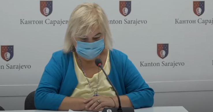 Članica Kriznog štaba ministarstva zdravtsva Pilav