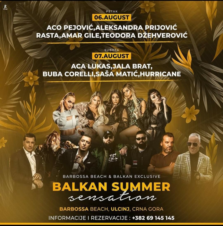 "Regionalne zvijezde na ""Balkan Summer Sensation 2021"""