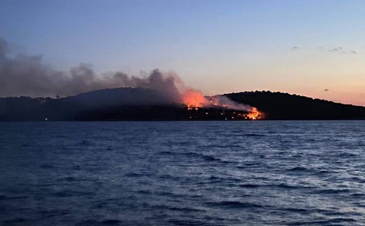 Vatrogasci se bore s vatrenom stihijom