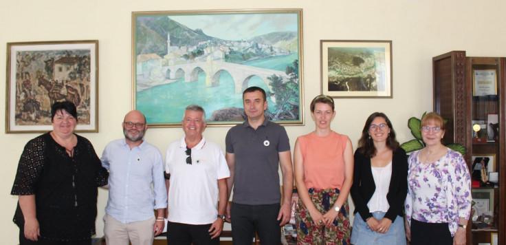 Gosti iz Italije s načelnikom Ćatićem: Približavanje gradova