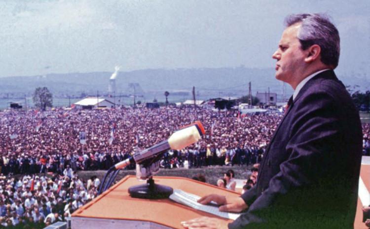 Zlokobni govor Miloševića na Gazimestanu