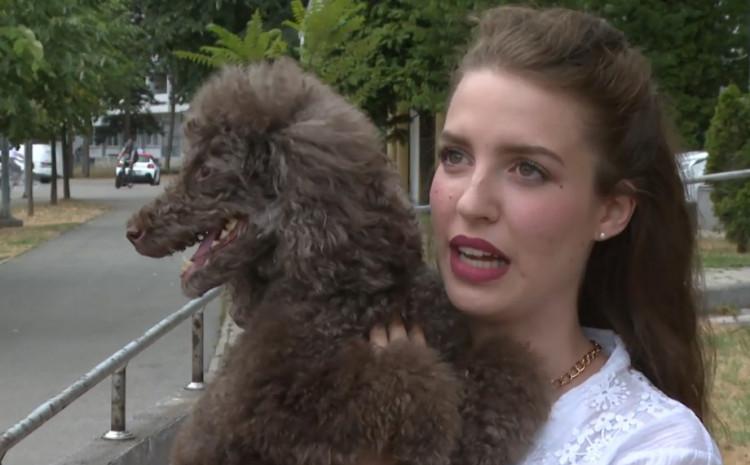 Ivona Bijelić, vlasnica psa Tese