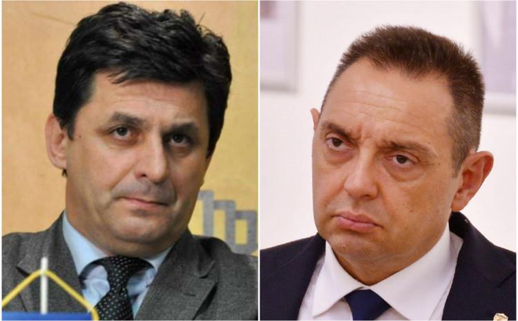 Senadin Lavić i Aleksandar Vulin