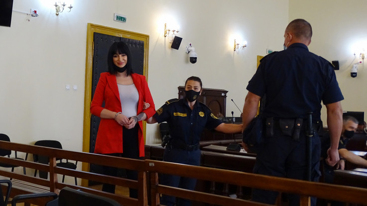 Hindić u sudnici krajem maja