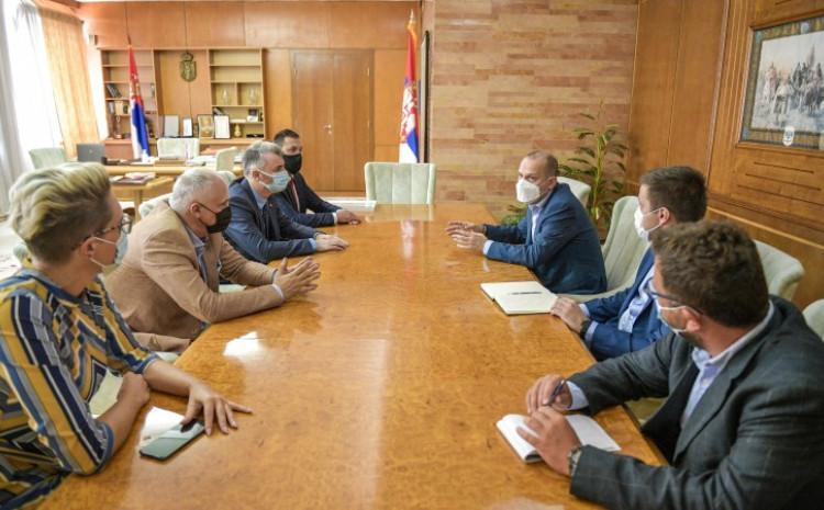 Forto i Vranić se u Beogradu sastali sa ministrom zdravstva Zlatiborom Lončarom