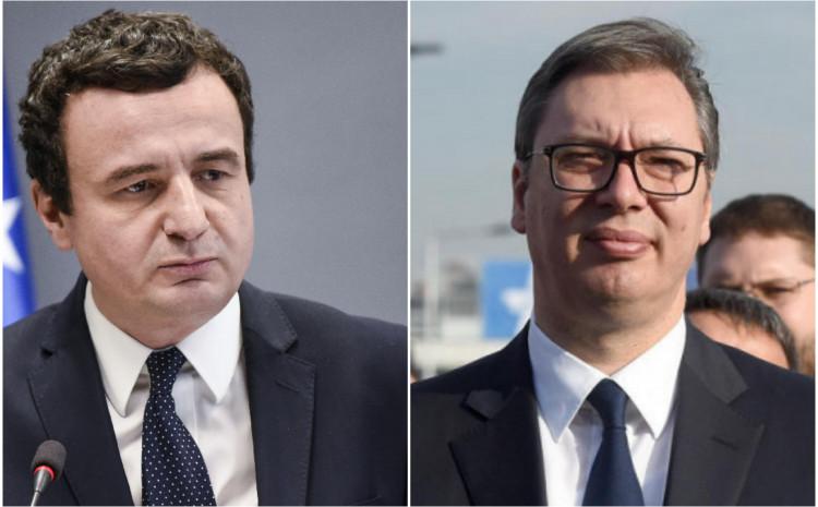 Kurti i Vučić se sastali u Briselu