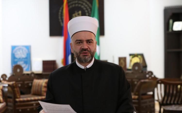 Reisu-l-ulema Islamske zajednice Srbije Sead Nasufović