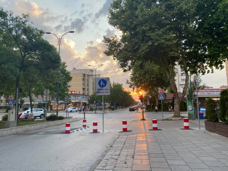 Obilježena pješačka zona