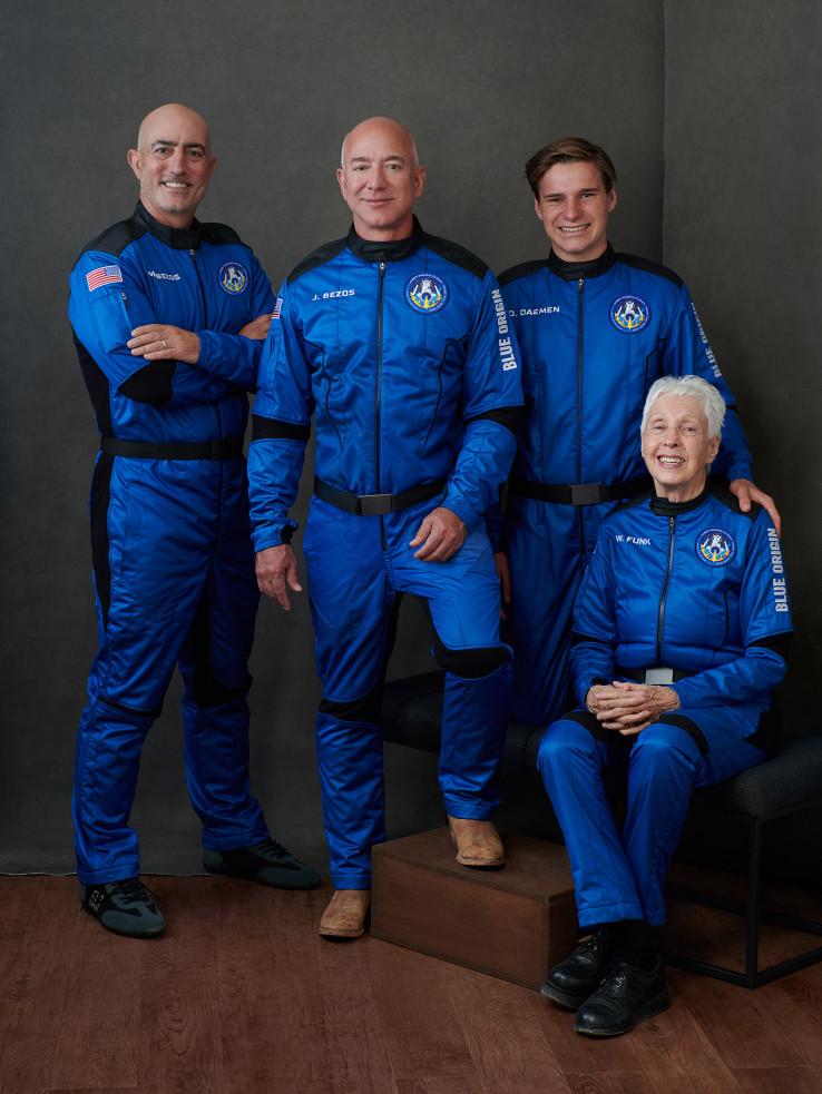 Posada koja je danas letjela u svemir