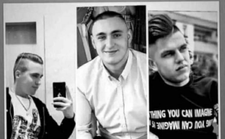 Trojica nastradalih mladića