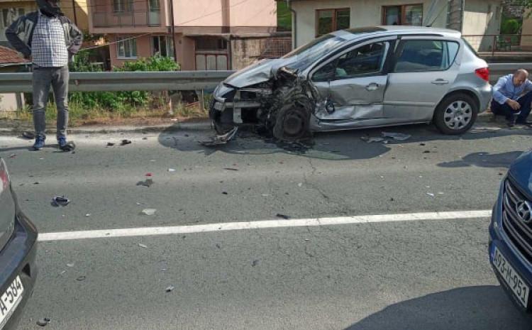 Na vozilima je pričinjena veća materijalna šteta