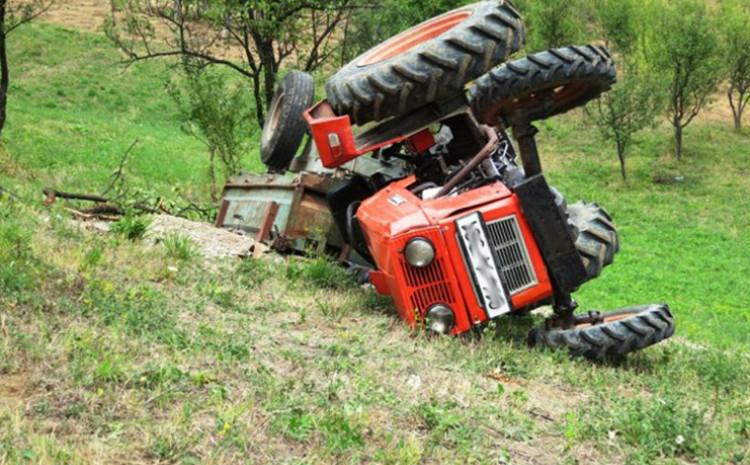 Teška traktorska nesreća