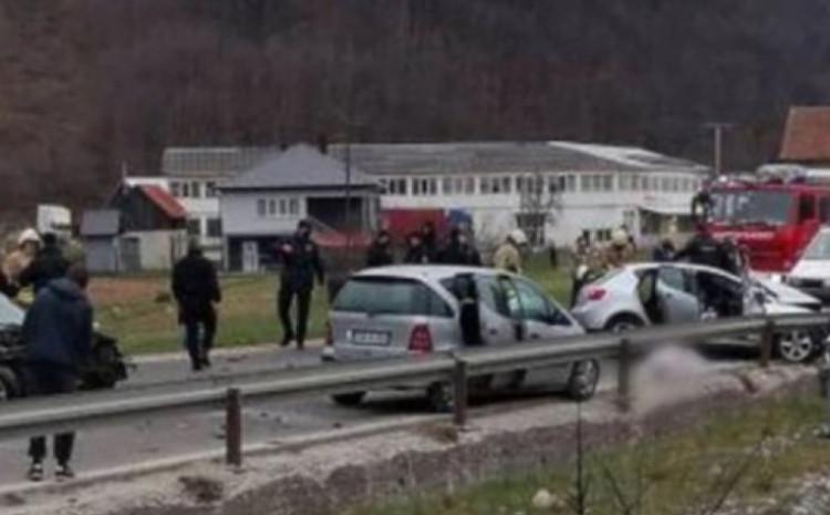 Detalj s mjesta nesreće u Hadžićima
