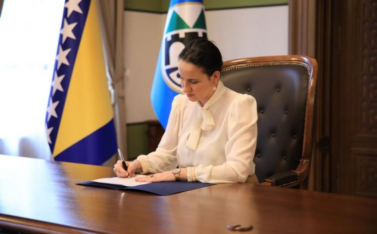 Benjamina Karić, gradonačelnica Sarajeva