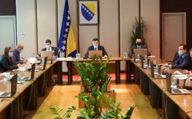 Sjednica Vijeća ministara BiH