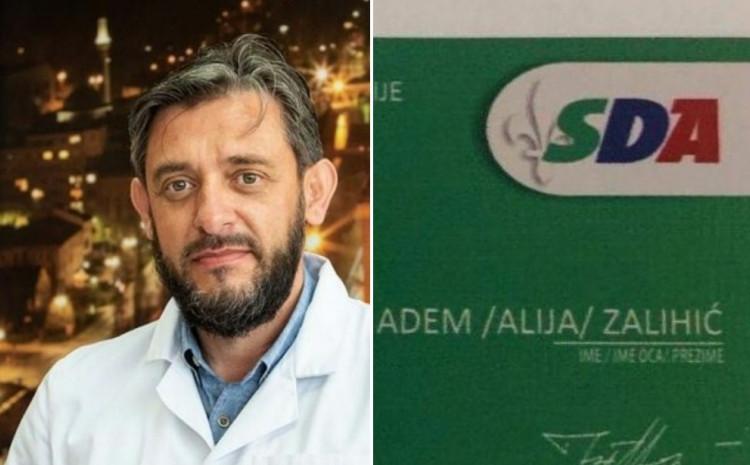 Adem Zalihić imao i člansku karticu SDA